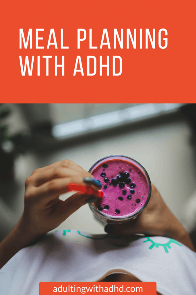 meal plan with adhd